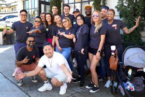 Team Boa Logistics at charity event